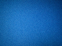 Blue fabric sample. Blue fabric texture sample for interior design Royalty Free Stock Image