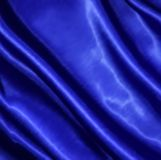 Blue fabric satin texture for background. Vector Stock Photo