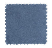 Blue fabric swatch samples Royalty Free Stock Photo
