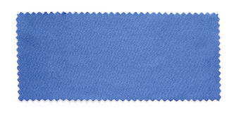 Blue fabric swatch samples Royalty Free Stock Images
