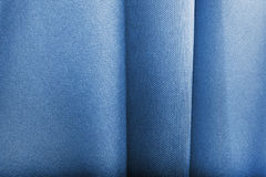 Blue fabric texture Royalty Free Stock Photos