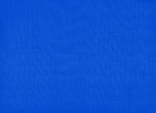 Blue fabric texture Stock Image