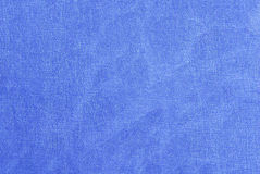 Blue  fabric texture Royalty Free Stock Images