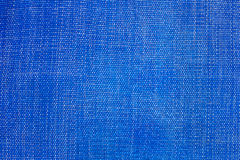 Blue fabric texture Stock Photos