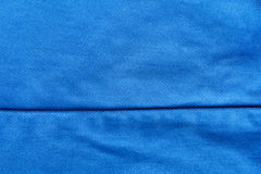 Blue Fabric Texture as Background royalty free stock image