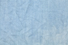 Blue fabric texture Royalty Free Stock Image