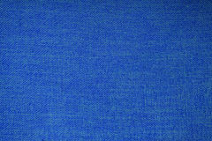 Blue fabric texture. And background Stock Image