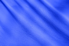 Blue fabric texture background Stock Photography