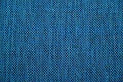 Blue Fabric Texture scan Stock Photos
