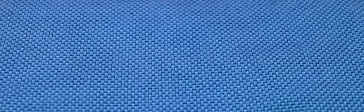 Blue fabric texture. To background Stock Photo