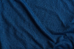 Blue fabric textured Stock Image