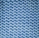 Fabric woolen yarn texture. background, craftsmanship. Blue fabric woolen yarn texture. background, craftsmanship stock image