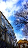 Blue facade of Lisbon Stock Image
