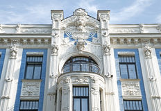 Blue facade Stock Image