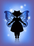 Blue fairy Stock Image