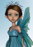 Blue Fairy Royalty Free Stock Image