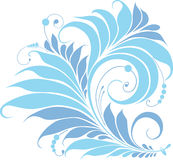 Blue Fairy Flower Stock Photography