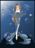 Blue fairy Royalty Free Stock Photo