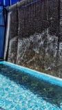 Blue falls stock photos
