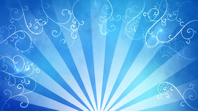Blue fancy background Stock Image