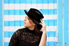Blue, Fashion Accessory, Headgear, Hat stock photos
