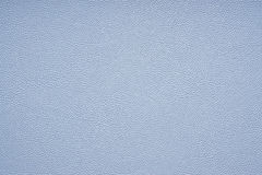 Blue faux leather texture Royalty Free Stock Photos