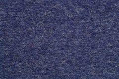Blue felt background Stock Photos