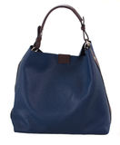 Blue female bag Royalty Free Stock Photos