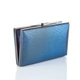 Blue female clutch Stock Photo