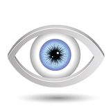 Blue female eye Royalty Free Stock Image