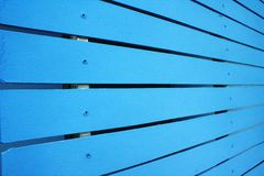 The blue fence Royalty Free Stock Images