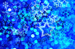 Blue festive background Royalty Free Stock Images