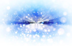 Blue festive background. Festive background with stars and rays Royalty Free Stock Images