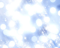 Blue fiber optics Stock Photography