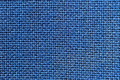 Blue fiber texture. Fibers blue texture on a chair Stock Image