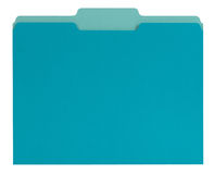 Blue File folder Royalty Free Stock Photo