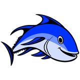 Blue fin Tuna Swimming Royalty Free Stock Photography