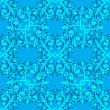 Blue fine seamless pattern Royalty Free Stock Photography