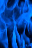 Blue fire. Fire on gas stove - blue color Royalty Free Stock Photography