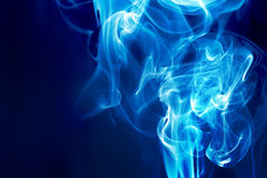 Blue fire Stock Photo