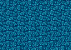 Blue firework blast pattern design wallpaper. For background use or for image or text layout royalty free illustration