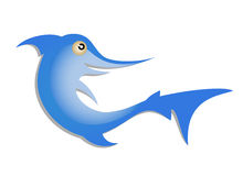 Blue fish Royalty Free Stock Photography
