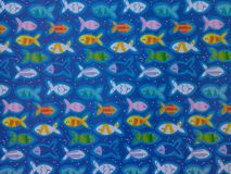 Blue fish background Royalty Free Stock Image