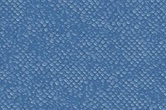 Blue fish or lezard scales for a seamless textured background vector illustration