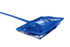 Blue Fish Net Stock Images