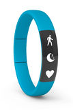 Blue Fitness Tracker Stock Photos