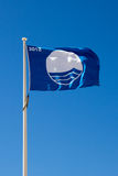 Blue Flag beach Stock Photo