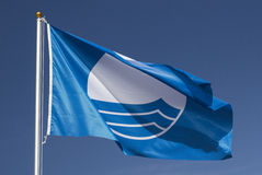 Blue Flag Royalty Free Stock Images