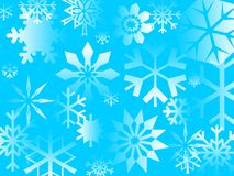 Blue Flakes Royalty Free Stock Photography