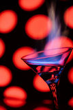Blue flame stock photography